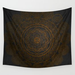 Circular Connections Copper Wall Tapestry