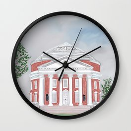 The Rotunda at UVA Wall Clock