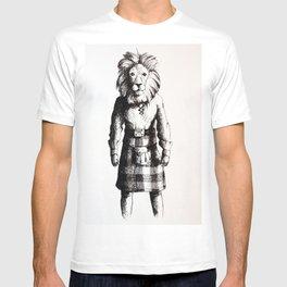 Lion in Kilt (Sketch) T-shirt