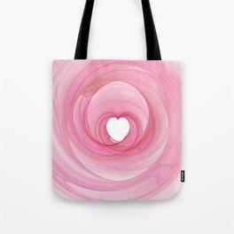 Valentine's Fractal I - Light Tote Bag