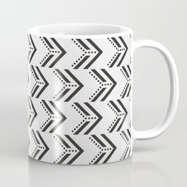 Black Arrow Tribal Canvas #society6 #decor #buyart #artprint Coffee Mug