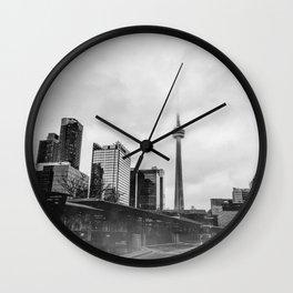 Moody Toronto Wall Clock