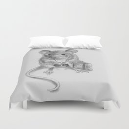 Traveler Mouse Duvet Cover