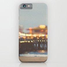 Beach Candy. Santa Monica pier photograph Slim Case iPhone 6