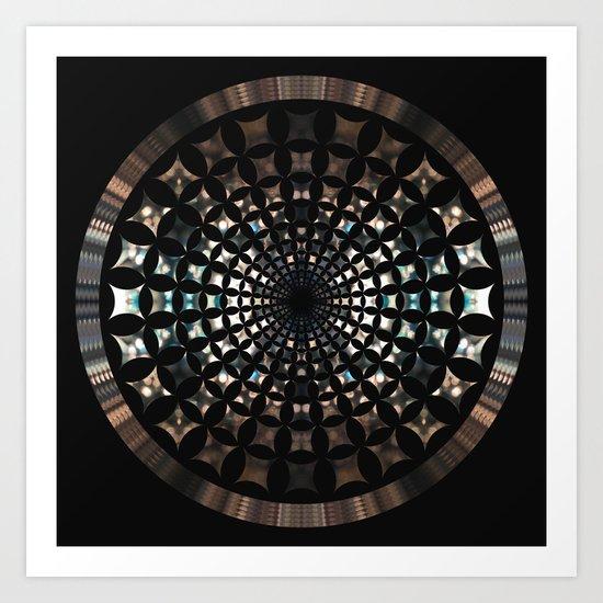 Shaped Lights #5 Art Print