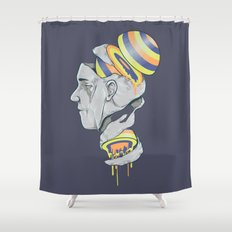 Sorbet Shower Curtain