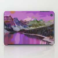 river iPad Cases featuring River by Asya Solo