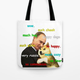 Putin Doge Tote Bag