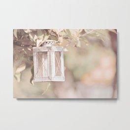 Pastel Lantern Metal Print