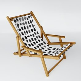 Watercolor Dots Sling Chair