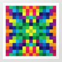 Colorful Geometric Background II by uniqued