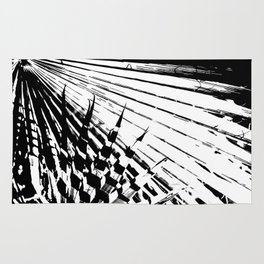 Spiked Palm Rug