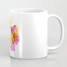 New Mixed Era -  Purple Faced Flower Coffee Mug
