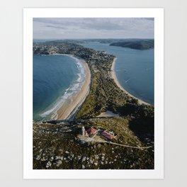 Barrenjoey Lighthouse, Australia. Art Print