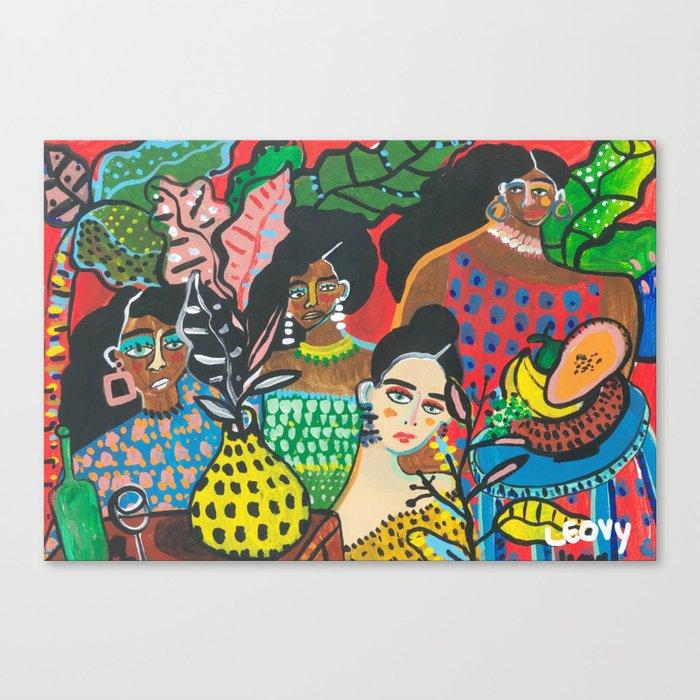 Brunch Canvas Print