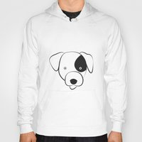jack russell Hoodies featuring Jack Russell by anabelledubois