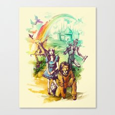Where Dreams Come True Canvas Print