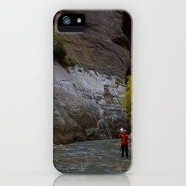 Narrows Photographer iPhone Case