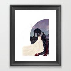 Empire Reylo Framed Art Print