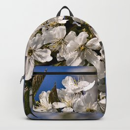 Magic White Cherry Blossom Dream Backpack
