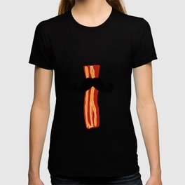 Bacon Stache T-shirt
