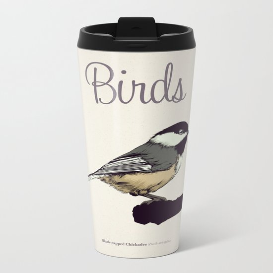 BIRDS 03 Metal Travel Mug