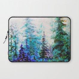 BLUE MOUNTAIN PINES LANDSCAPE Laptop Sleeve