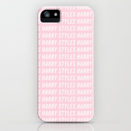 Harry Styles Pink iPhone Case