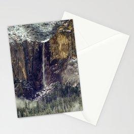Bridalveil Fall  1-25-18 Stationery Cards