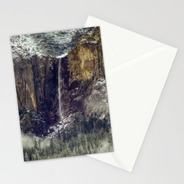 Bridalveil Fall  1-25-18 Stationery Cards