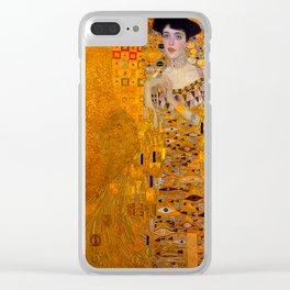 THE LADY IN GOLD BLOCH BAUER - GUSTAV KLIMT Clear iPhone Case
