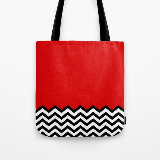 Black Lodge Dreams (Twin Peaks) Tote Bag