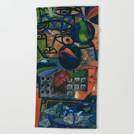 CALLING ON INSPIRATION Beach Towel