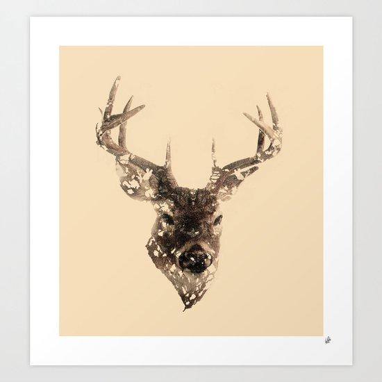 Cervus (Classic Version) Art Print