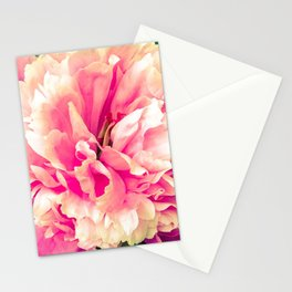 Paeony love Stationery Cards