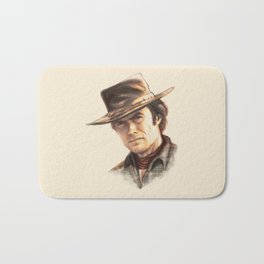 Clint Eastwood tribute Bath Mat