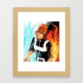 Todoroki Shouto Framed Art Print