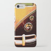 volkswagon iPhone & iPod Cases featuring Volkswagon Van by Alexandra Kube