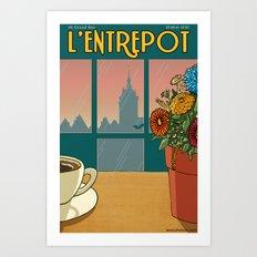 L'Entrepot  Art Print