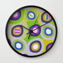 Funky circle fun Wall Clock