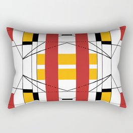 Geometric Abstaction Rectangular Pillow