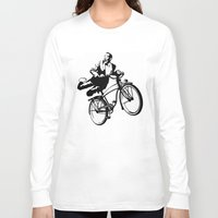 pee wee Long Sleeve T-shirts featuring Pee Wee  by AngelDoes