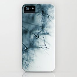 dandelion blue VIII iPhone Case
