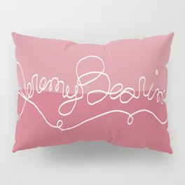 Jeremy Bearimy Pink Color Block Pillow Sham