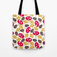 Mod Mushrooms Tote Bag
