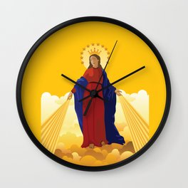 Mary Queen of Heaven Wall Clock