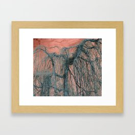 RELAX... It's Just A MINDfuck! Framed Art Print