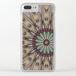Mandala to Passion 144 Clear iPhone Case