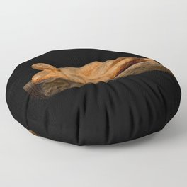 Earth Woman (Sculpture by Eva Hoedeman) Floor Pillow