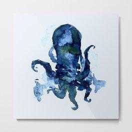 Oceanic Octo Metal Print